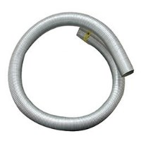 """FLEXIBLE 2-1/2"""" X 10' STAINLESS"""