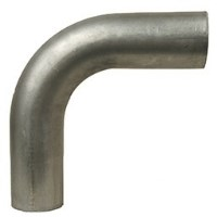 """COUDE 90 DEG STAINLESS OD/OD 4"""" 7""""/7"""""""