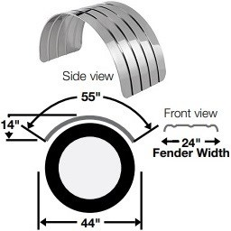 STAINLESS ROUND FENDERS redirect to product page