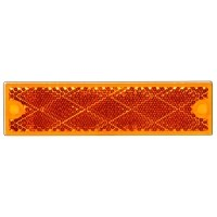 """REFLECTEUR RIGIDE 1-1/4"""" X 4-3/8"""" AMBRE COLLE VIS redirect to product page"""